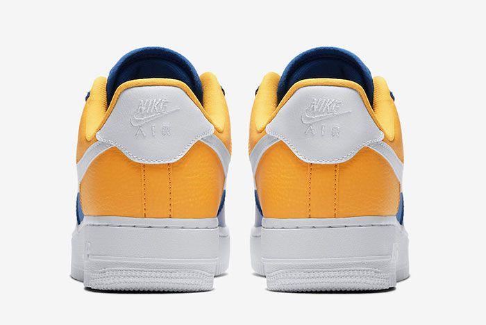 Nike Air Force 1 Low Warriors Aa0287 401 Release Date 5 Heel