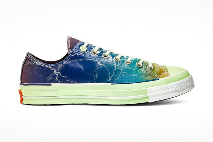 Pigalle Converse Chuck 70 Blue Release Date Lateral