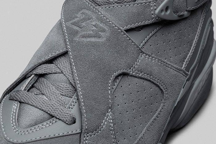 Air Jordan 8 Cool Grey 6