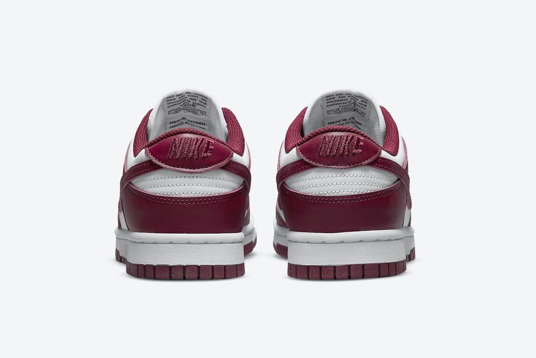 Nike Dunk Low 'Bordeaux'