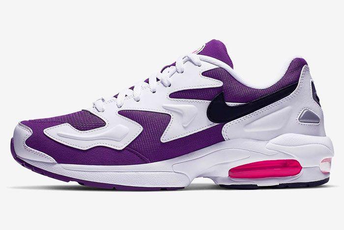 Nike Air Max2 Light Purple Left