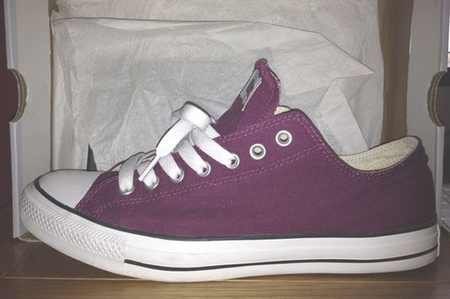 10 Perfect Purple Sneakers Converse Chuck Talyor All Star Purple 1