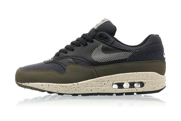 Nike Air Max 1 Se Medium Olive Light Cream Black 1