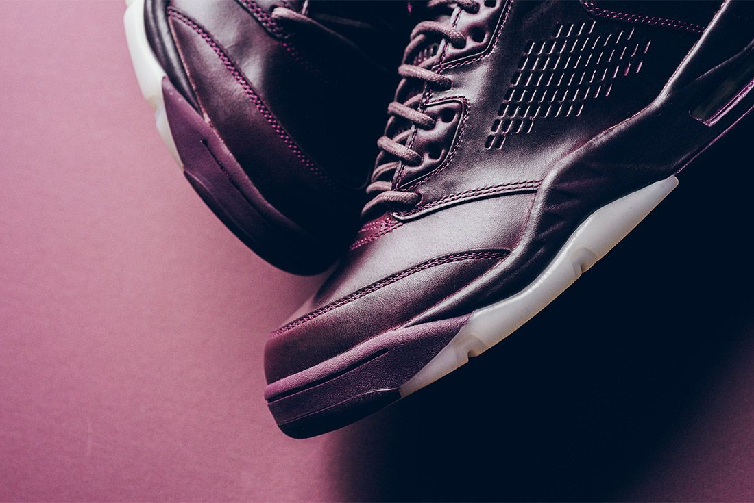 Air Jordan 5 Retro Premium Bordeaux 881432 612 Sneaker Freaker 7