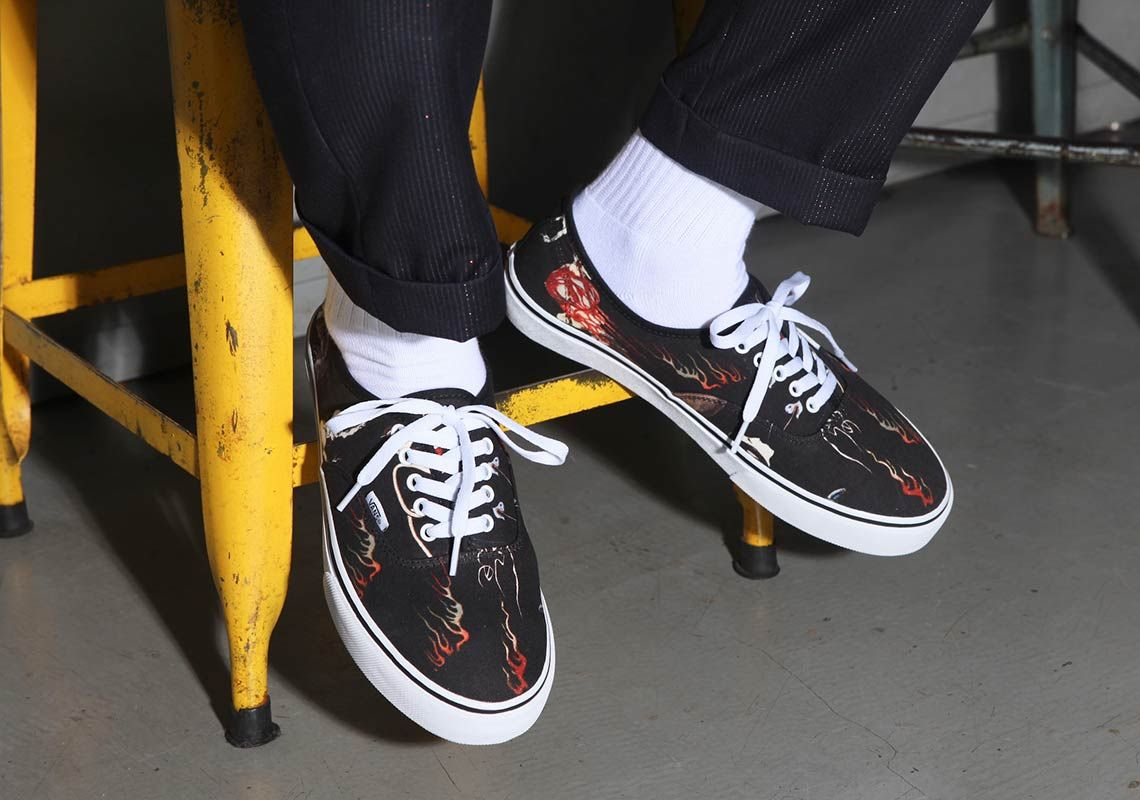 Wacko Maria Vans Authentic Angled