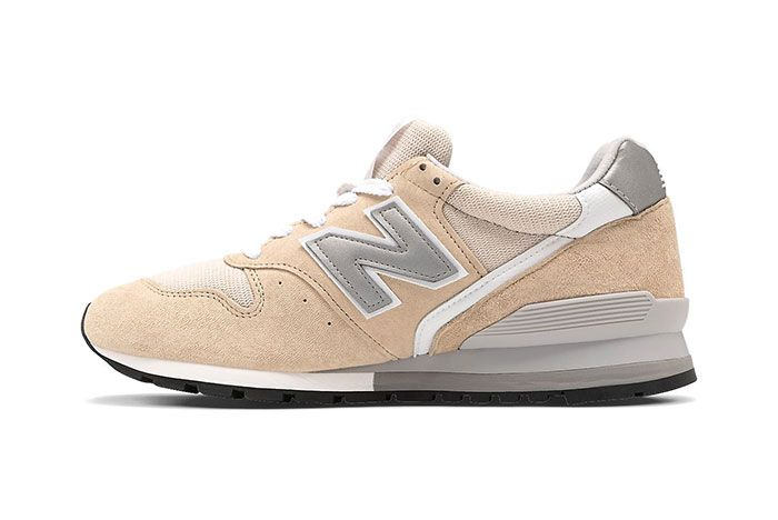 New Balance 996 Tan White Medial