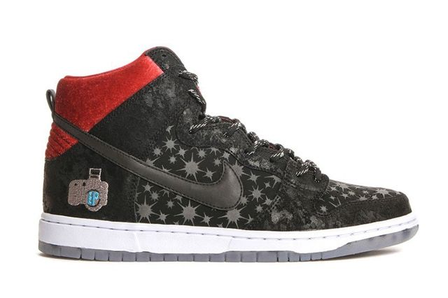 Brooklyn Projects Nike Sb Dunk High Paparazzi