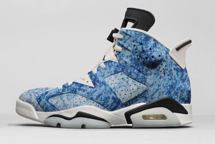Air Jordan 6 Acid Wash Denim 681X505 Sneaker Freaker