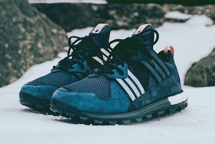 Ronnie Fieg Kith Aspen Snow Adidas Trail Boost 1