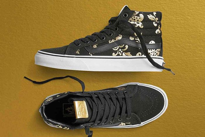 Vans 50 Th Anniversary Gold Collection7