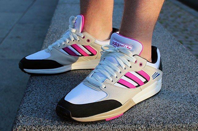 Pink Adidas Tech Super 1