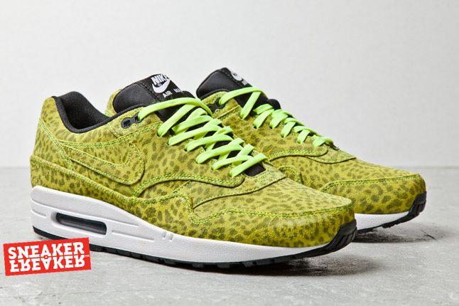 Nike Air Max 1 Fb Yell Leopard Pair 1