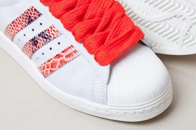 Adidas Consortium Shelltoe Snake Red 5 1
