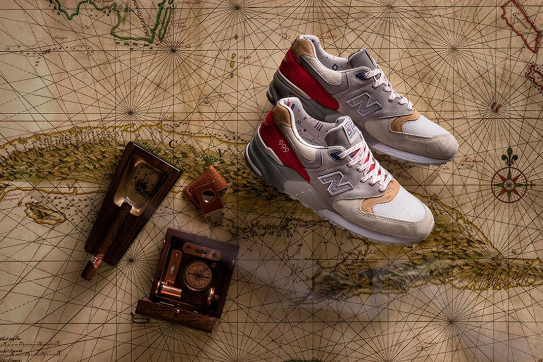 New Balance 999 Hyannis Concepts Red