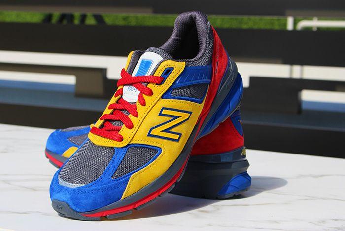 Shoe City Eat New Balance 990V5 Pair Front
