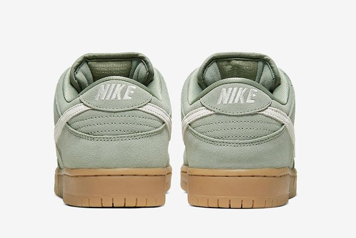 Nike Sb Dunk Low Horizon Green Bq6817 300 Heel