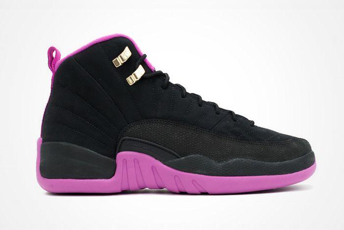Air Jordan 12 Gs Hyper Violet