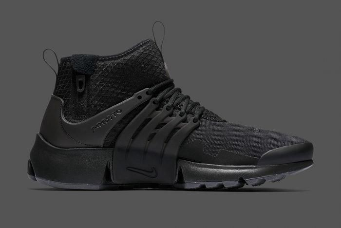 Nike Air Presto Mid Utility Triple Black 6 700X468