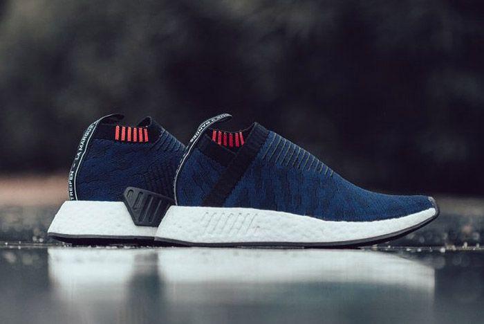 3 Adidas Nmd Cs2 Primeknit Indigo Sneaker Freaker
