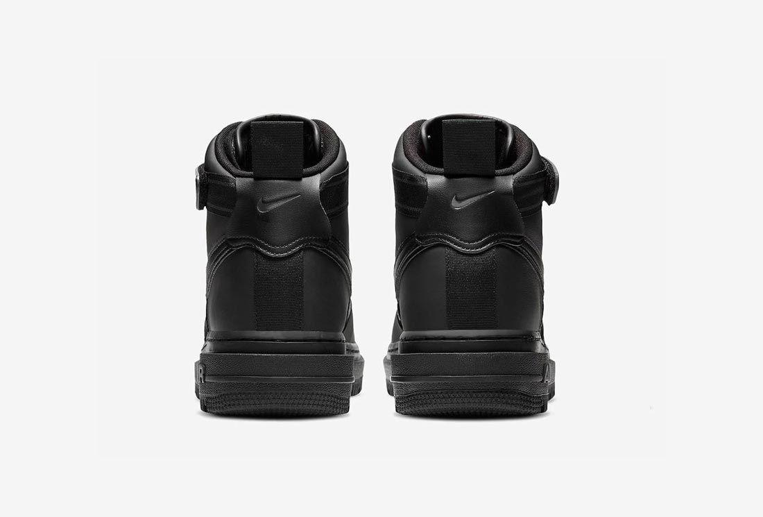 Nike Air Force 1 High Boot 'Triple Black'