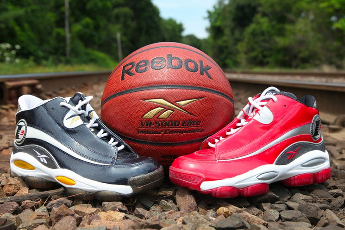 Reebok Answer 1 Black Red Front
