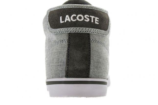 Lacoste Ampthill Cll Darkgrey Dark Heel Profile 1