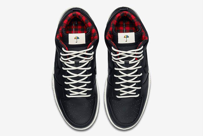 Nike Dunk Hi Black 6