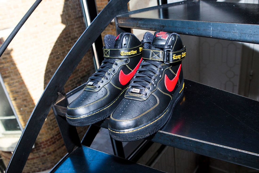 Vlone X Nike Air Force 1 8
