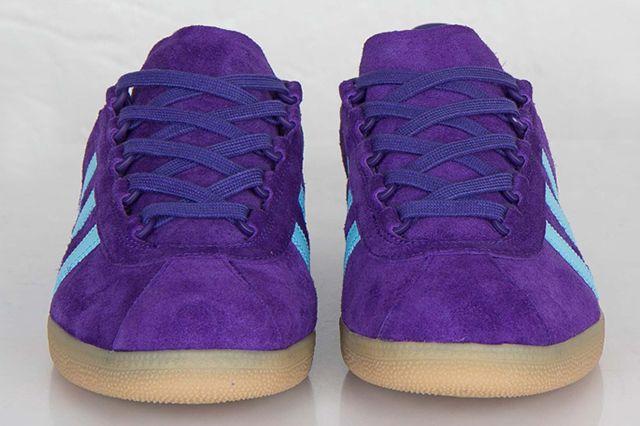 Adidas Originals Trimm Star Collegiate Purple Crystal Blue 5