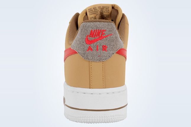 Nike Air Force 1 Low Jersey Gold White Canvas 2 1