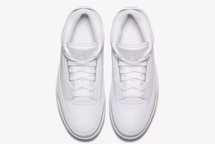 Air Jordan 3 White 4