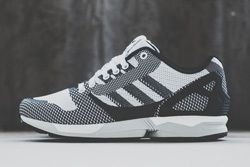 Adidas Zx Flux Weave White Black Thumb