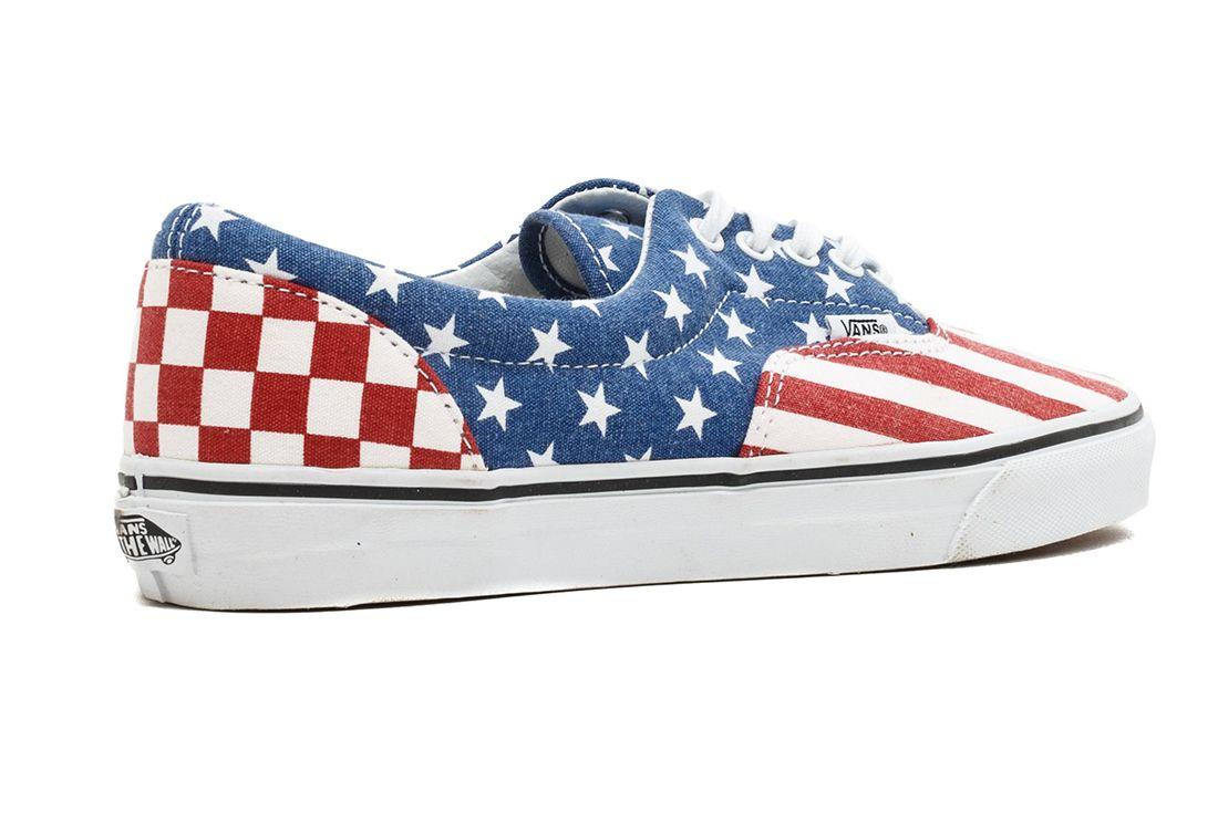 Vans Era American Stripes Heel