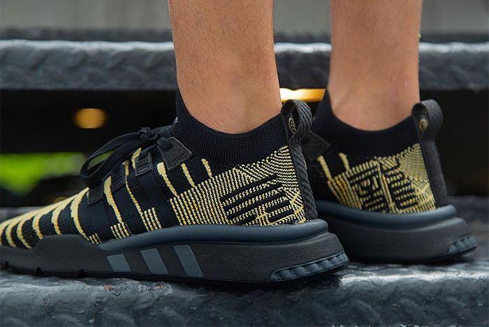 Shenron Adidas Dragon Ball Z Eqt Support Mid Adv Black Gold 14 Sneaker Freaker