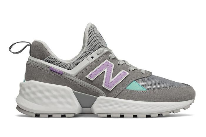 New Balance 574 Sv2 Grey Right Side Shot