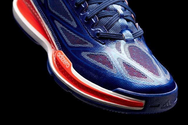 Adidas Adizero Crazy Light 3 Bright Indigo Toe Detail