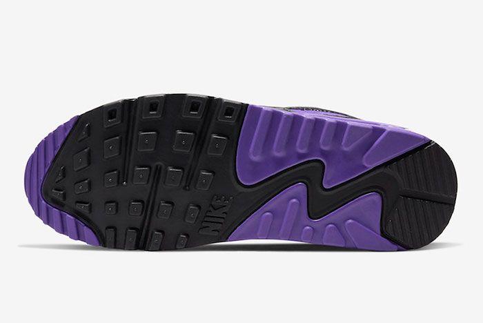 Nike Air Max 90 Hyper Grape Cd0490 103 Sole