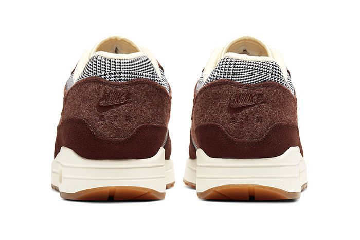 Nike Air Max 1 Houndstooth Ct1207 200 Release Date Heel