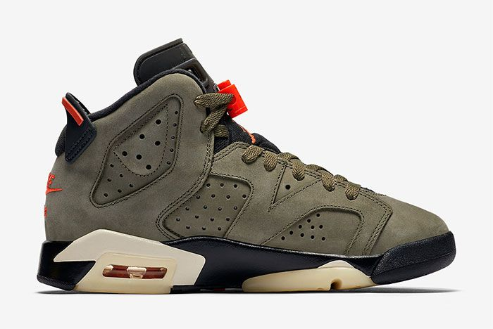 Air Jordan 6 Travis Scott Gs Right