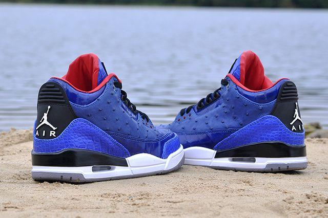 Jbf Customs Jordan 3 Incomparablue 2