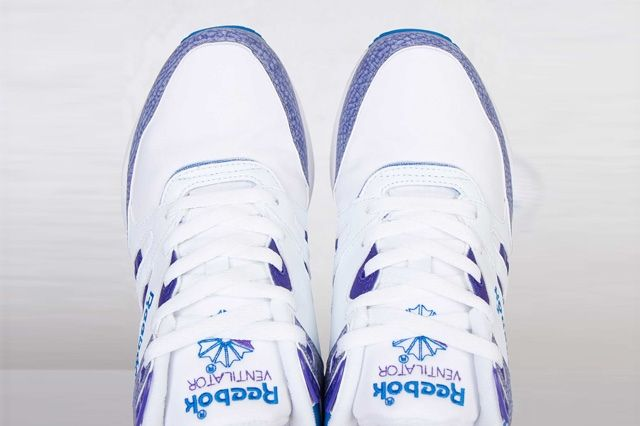 Reebok Ventilator White Purple Blue 7