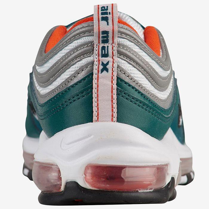 sentido común tos motivo  Nike's Air Max 97 Gets a 'Miami Dolphins' Do-over - Sneaker Freaker