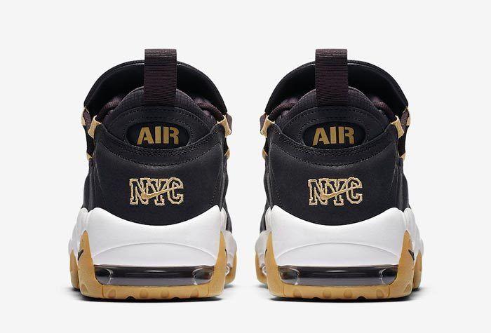 Nike Air More Money Brooklyn Oil Grey Metallic Gold Ar5401 001 5 700