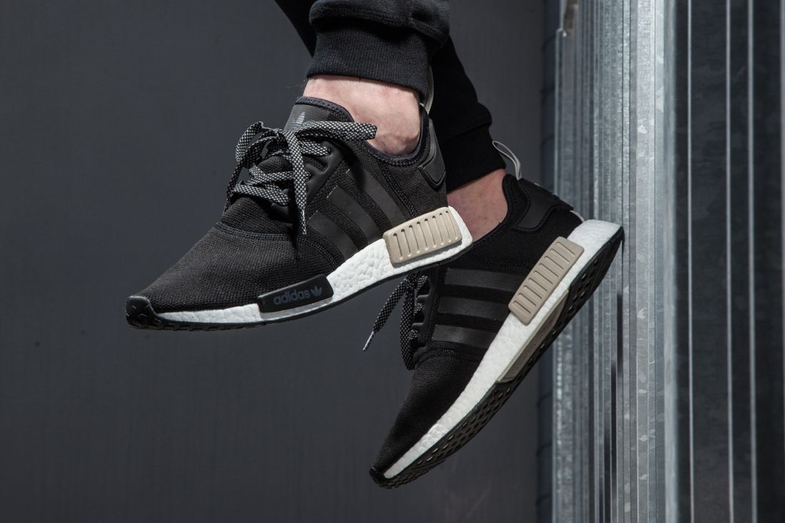 Adidas Nmd R1 Foot Locker Exclusive Black Light Brown