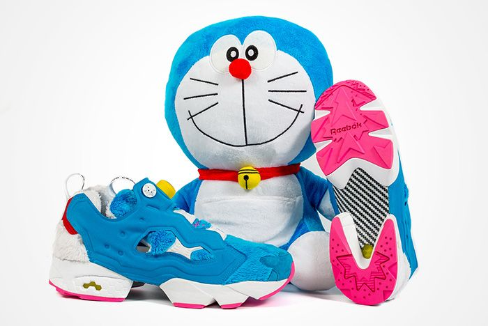 Atmos X Packer X Reebok Instapump Fury Doraemon Feature