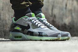 Nike Air Max 90 Knit Jacquard Ice Qs Grey Mist Thumb