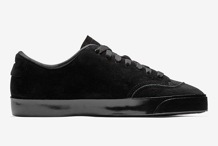 Nike Blazer City Low Xs Triple Black 3
