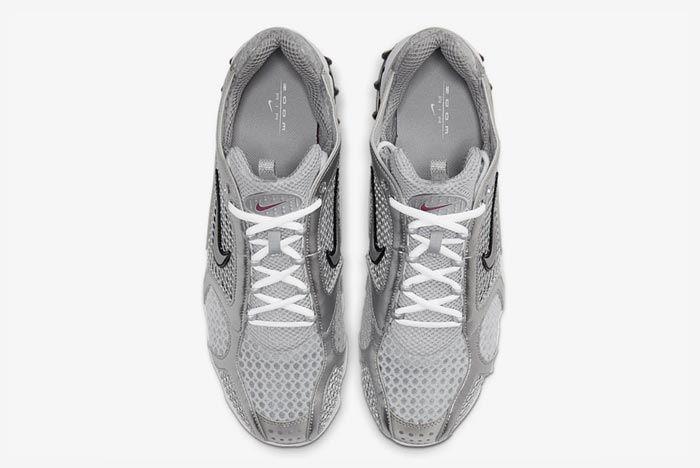 Nike Air Zoom Spiridon Caged Metallic Silver Top