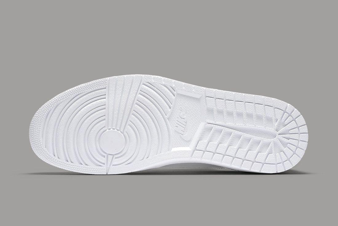 Air Jordan 1 Low Pinnacle Silver 5