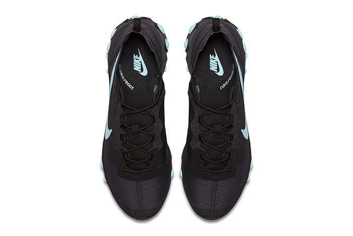 Nike Element React Black Blue 2